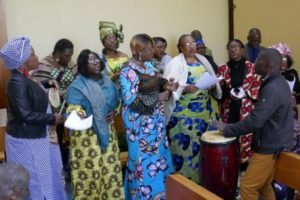 Chorale africaine au culte interculturel