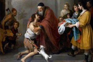"Tableau ""Return of the Prodigal Son"" de Murillo"