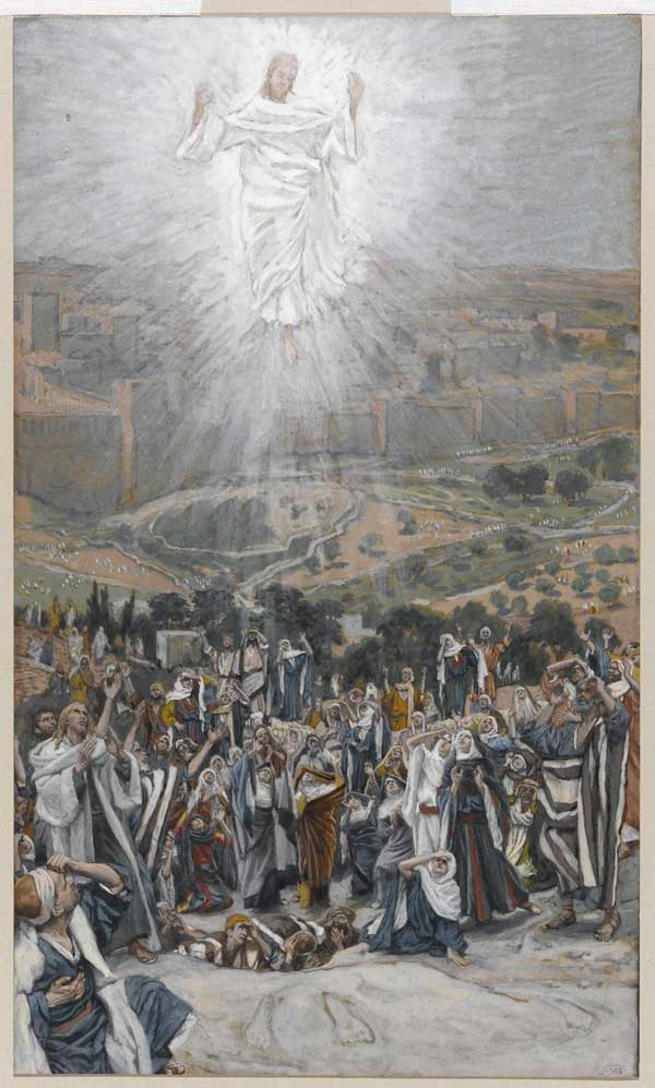 "Tableau ""The Ascension"" de James Tissot"